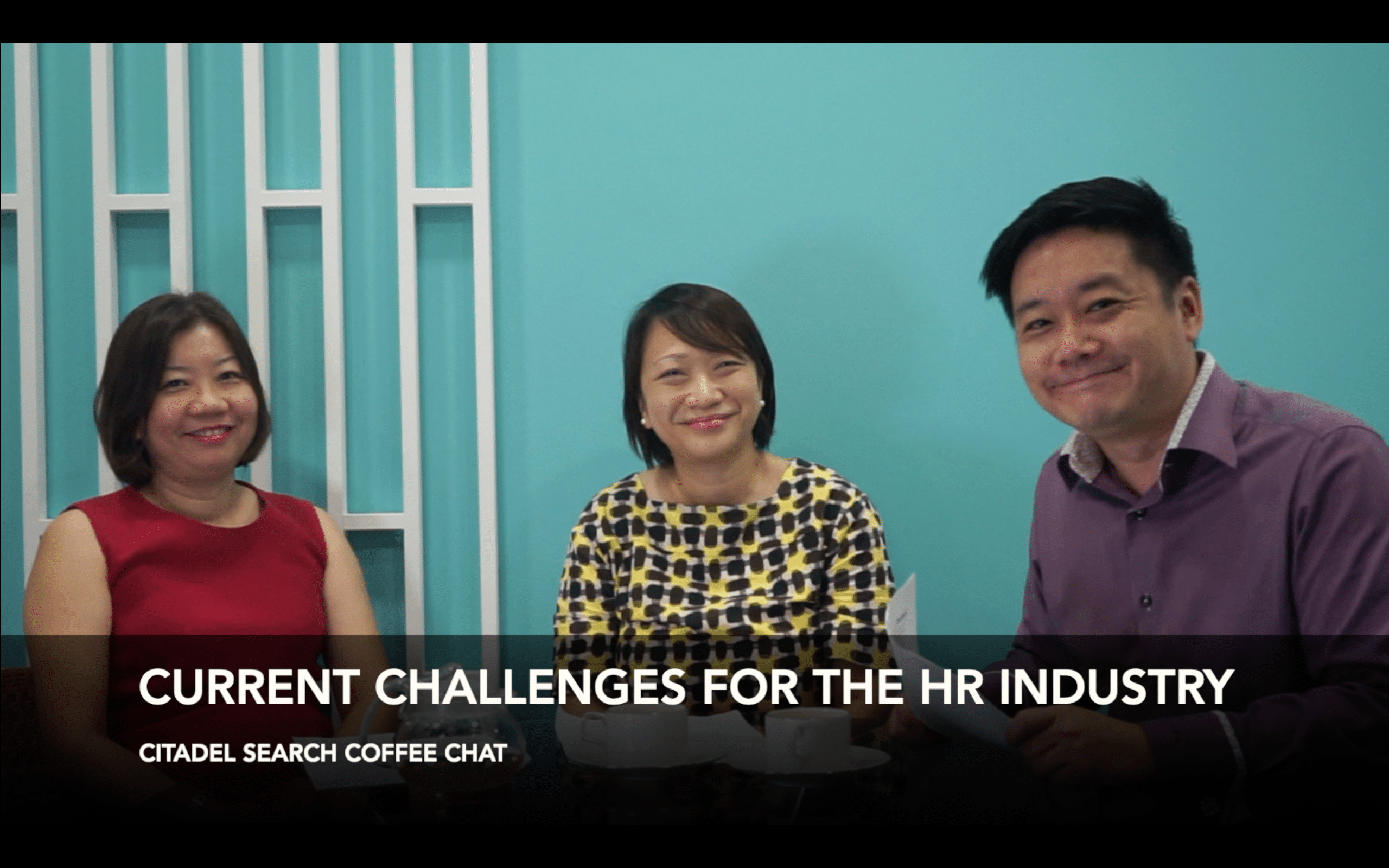 Citadel Search Coffee Chat – Current Challenges for the HR Industry